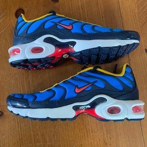 Nike Air Max Plus GS Photo Blue Size 5.5Y NEW